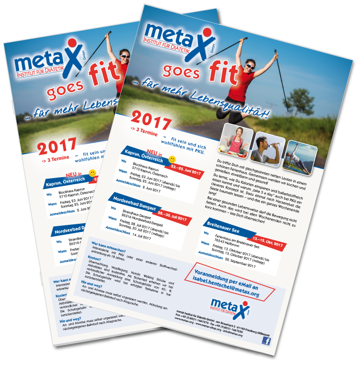 metaX goes fit